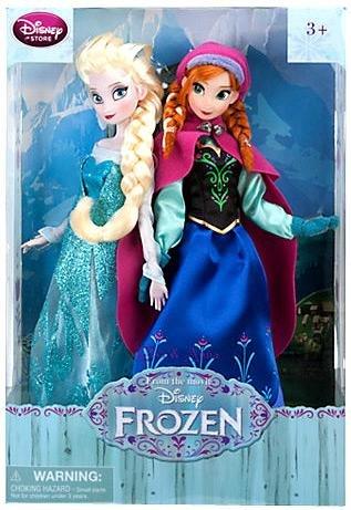 Disney Frozen Exclusive 12 Inch Doll Anna & Elsa