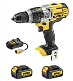 Dewalt DCD985 DCD985N 18V Xr Li-Ion 3 Speed Xrp Combi Drill, 2 DCB180 Batteries And 110V DCB105 Charger