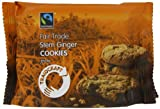 Traidcraft Fairtrade Stem Ginger Cookies 44 g (Pack of 24)