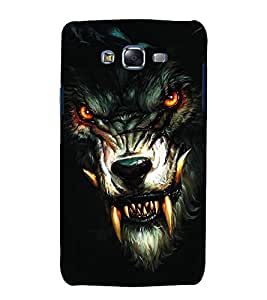 Snapdilla Wild Dragon Design Vampire Eyes Wolf Lovers Best Mobile Pouch for Samsung Galaxy J7 J700F :: Samsung Galaxy J7 Duos :: Samsung Galaxy J7 J700M J700H