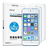 OMOTON 3306811 0.2mm Ultrathin Tempered Glass Screen Protector for iPod Touch (6th Gen) - 2 Pack