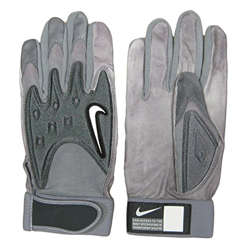 Nike College D-Tack III Men`s Football Gloves - Leather Palm - Size Large