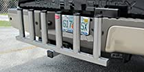 Receiver Hitch Fishing Rod Holder-Pivots Out-Powder Coated