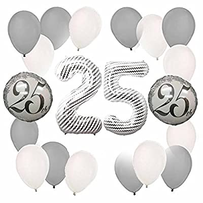 25th Anniversary Balloon Decoration Kit