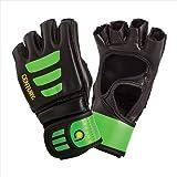 Century 147018P-015250 Brave Youth Open Palm Glove - Black Green Small-Medium