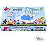 Kids Bazaar Angry Bird Study Game Mini Laptop (Blue) Combo Princess Projector Watch For Kids