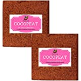 Coir Pith Brick - Expands Upto 150 Kgs Of Coco Peat Powder 5 Kg Each X 2 No's