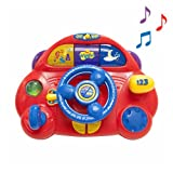 The Wiggles Big Red Car Musical Steering Wheel