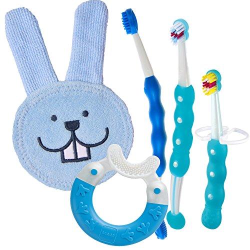 MAM 999552 - Set igiene orale per bambini, colore: Blu