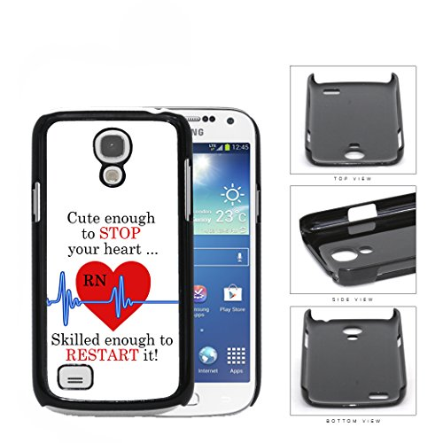 RN-Nurse-Red-Heart-with-Blue-EKG-Line-Quote-Samsung-i9190-Galaxy-S4-MINI-Hard-Snap-on-Plastic-Cell-Phone-Cover
