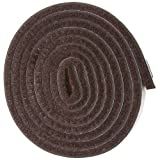 Waxman 1/2 inch by 60 inch length Heavy Duty Felt Strip. Brown