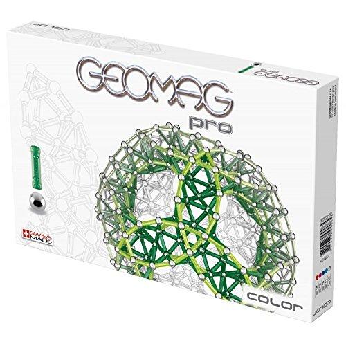 geomag pro color building kit 100 piece - Geomag Color 64 Pieces