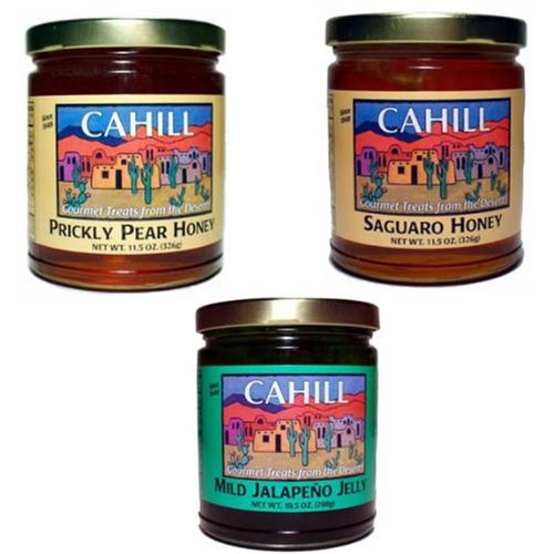 Cahill Desert Products Variety Pack #6 (Gourmet,Cahill Desert Products by Creative Ventures,Gourmet Food,Baking Supplies,Honey, Syrups & Sweeteners,Honey)