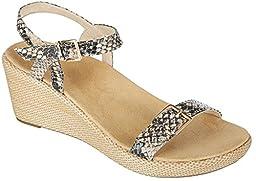 Vionic Enisa Womens Backstrap Orthotic Sandal Natural Snake - 8