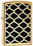 Zippo Chain Link Lighter, High Polish Brass
