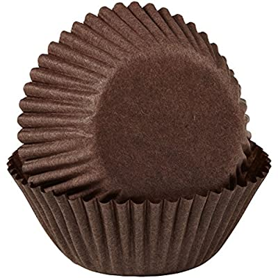 Wilton Baking Cups, 100-Pack, Mini, Brown