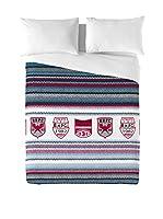 Beverly Hills Polo Club Juego De Funda Nórdica Aspen (Azul / Rojo)