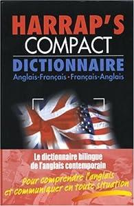 Harrap\'s Compact : Anglais/français, français/anglais par Isabelle Elkaim
