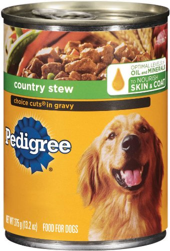 PEDIGREE CHOICE CUTS in Gravy Country Stew Canned Dog Food 1