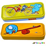Shoo and Boo - My Animal Friends Double Deck Metal Pencil Box (Set of Two - Friends Series)