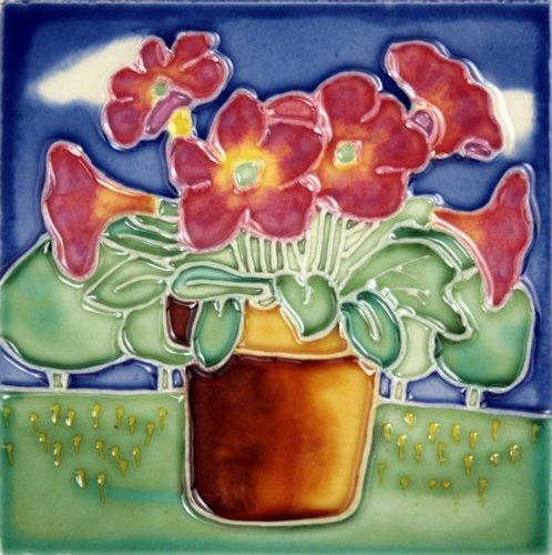 Decorative Ceramic Art Tile - 4