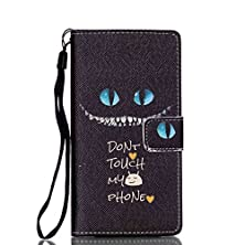 buy P8 Lite Case, Light Weight [Wrist Strap Support] [Vivid Art Painting] Pu Leather Magnetic Closure Wallet Case With Stand Flip Cover For Huawei P8Lite Bundle With One Stylus