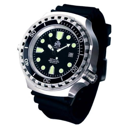 [トーチマイスター1937]Tauchmeister1937 腕時計 ドイツ製大型重厚1000M防水ダイバーズ 自動巻 T0256 (並行輸入品)