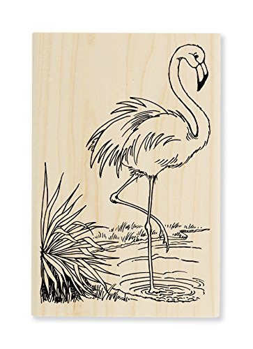 Stampendous Flamingo Rubber Stamp