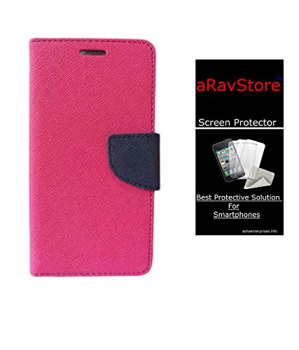 AravStore Pink Diary & Screen Cover for Samsung Galaxy S3 Neo
