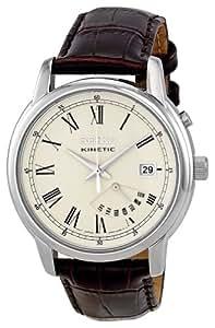 Seiko Herren-Armbanduhr XL Analog Quarz Leder SRN033P1