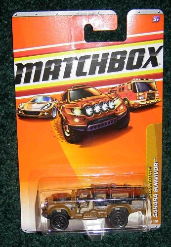Matchbox 2010 Desert Adventure Sahara Survivor 77 OF 100 1:64 Scale - 1