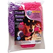 BoTy Dogs Clean N Pamper Bundle One Natural Shampoo Bar Moisturizing Dog Soap, 2 Chenille Dog Drying Mitts, Free...