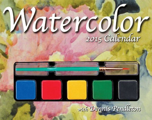 Watercolor 2015 Day-to-Day Calendar
