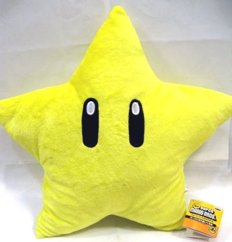 Picture of Super Mario Brothers Super Mario Brothers : Star Starman Plush - 11