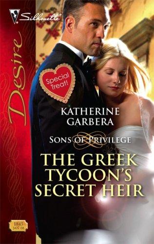 Image of The Greek Tycoon's Secret Heir (Silhouette Desire)