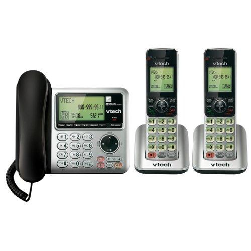 Vtech Cs6649-2 Dect 6.0 2-Handset Landline Telephone