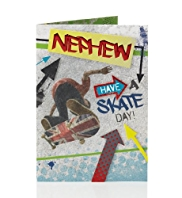 Graffiti Skater Nephew Birthday Card