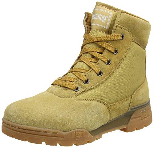 Magnum Classic Mid, Work Boots Unisex - Adulto, Beige (Wheat 079), 44 EU