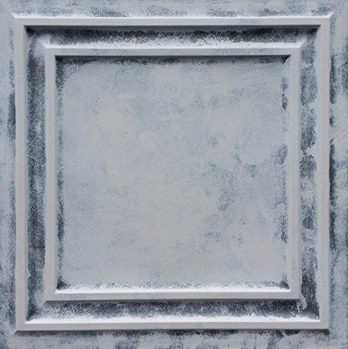 PL05imitation peinture aux intempéries plafond Panneaux muraux décoration carrelage en relief fond photosgraphie 10pieces/Lot