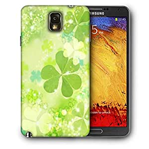 Snoogg Clovers Printed Protective Phone Back Case Cover For Samsung Galaxy NOTE 3 / Note III