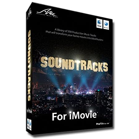 Soundtracks for iMovie