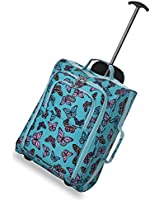 5 Cities 55cm/50cm Cabin Trolley Carry-on Hand Luggage Bag for Easyjet & Ryanair