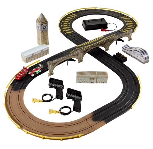 Cars 2 R/C London City Raceway Slot Car Racing Set