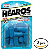 Hearos Xtreme Protection, 14-Pair Foam (Pack of 2)