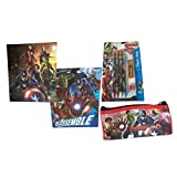 The Avengers Age Of Ultron Folders Pencil Case Bundle