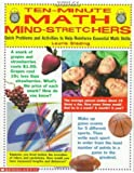 img - for Ten-Minute Math Mind-Stretchers (Grades 3-5) by Professional Books Steding Laurie (1999-01-01) Paperback book / textbook / text book