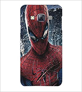 PrintDhaba Spiderman D-5186 Back Case Cover for SAMSUNG GALAXY A3 (Multi-Coloured)