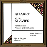 Duets for Guitar and Piano Weber/Mertz/Diabelli