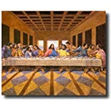 Black Last Supper Jesus Christ African American Religious Wall Picture Art Print