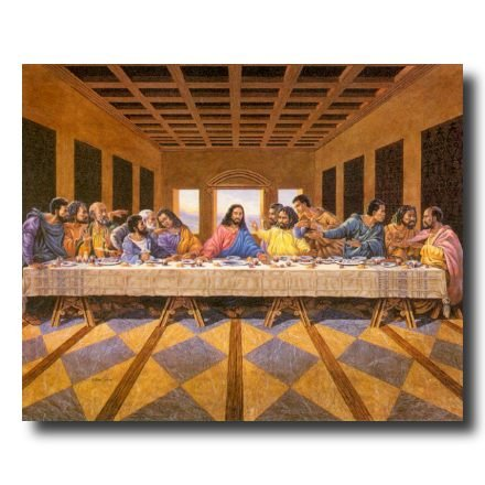 African American Black The Last Supper Jesus Christ Religious Picture Art Print (African American Pictures compare prices)